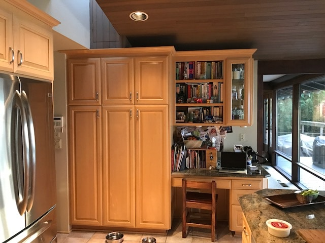 before image of emond kitchen cabinets
